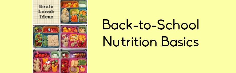 school nutrition basics